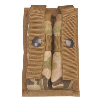 5ive Star - Molle 9MM 2 Mag Pouch, MultiCam