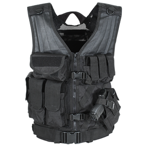 MSP-06 ENTRY ASSAULT VEST (BLACK/M-XL)