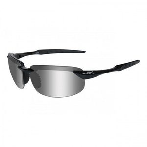 Wiley X - Tobi Lens Color: Polarized Silver Flash / Gloss Black
