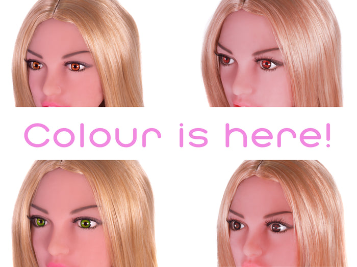 Say Hello To Colour! Kimber Doll Blog