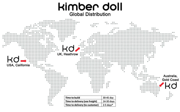 Kimber Doll Global Distribution