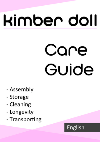 Kimber Doll Care Guide User Manual
