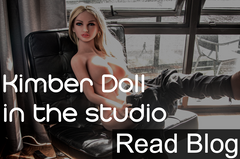 Kimber Doll in the studio