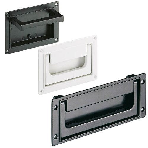 Tray / Recessed Handle Aluminium - SK