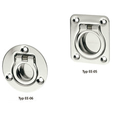 Tray / Recessed Handle Stainless Steel - EE05&6