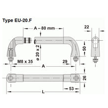 Component Stainless Steel Handle - EU