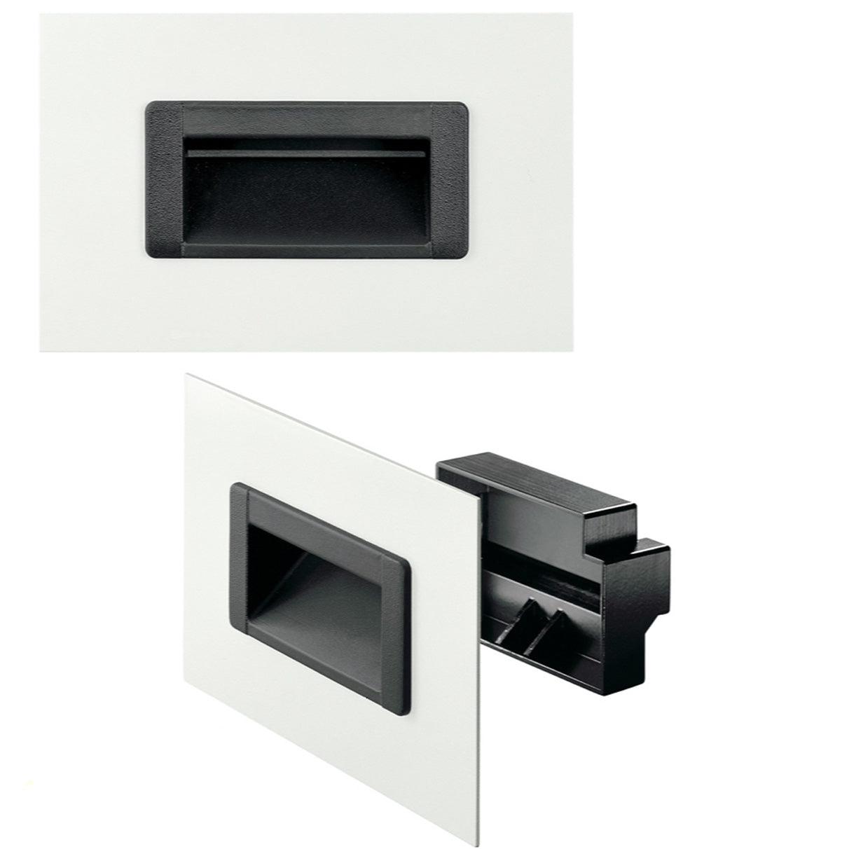 Tray / Recessed Handle Plastic - KM48