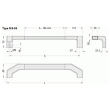 Component Aluminium Handle - MS4