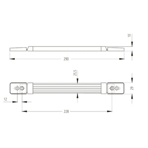 Tray / Recessed- Strap Handle - PE28
