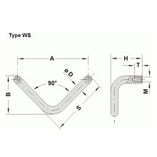 Steel Handle Offset - WS