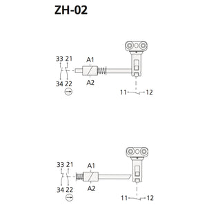 Function/Switch Handle Lock - ZH