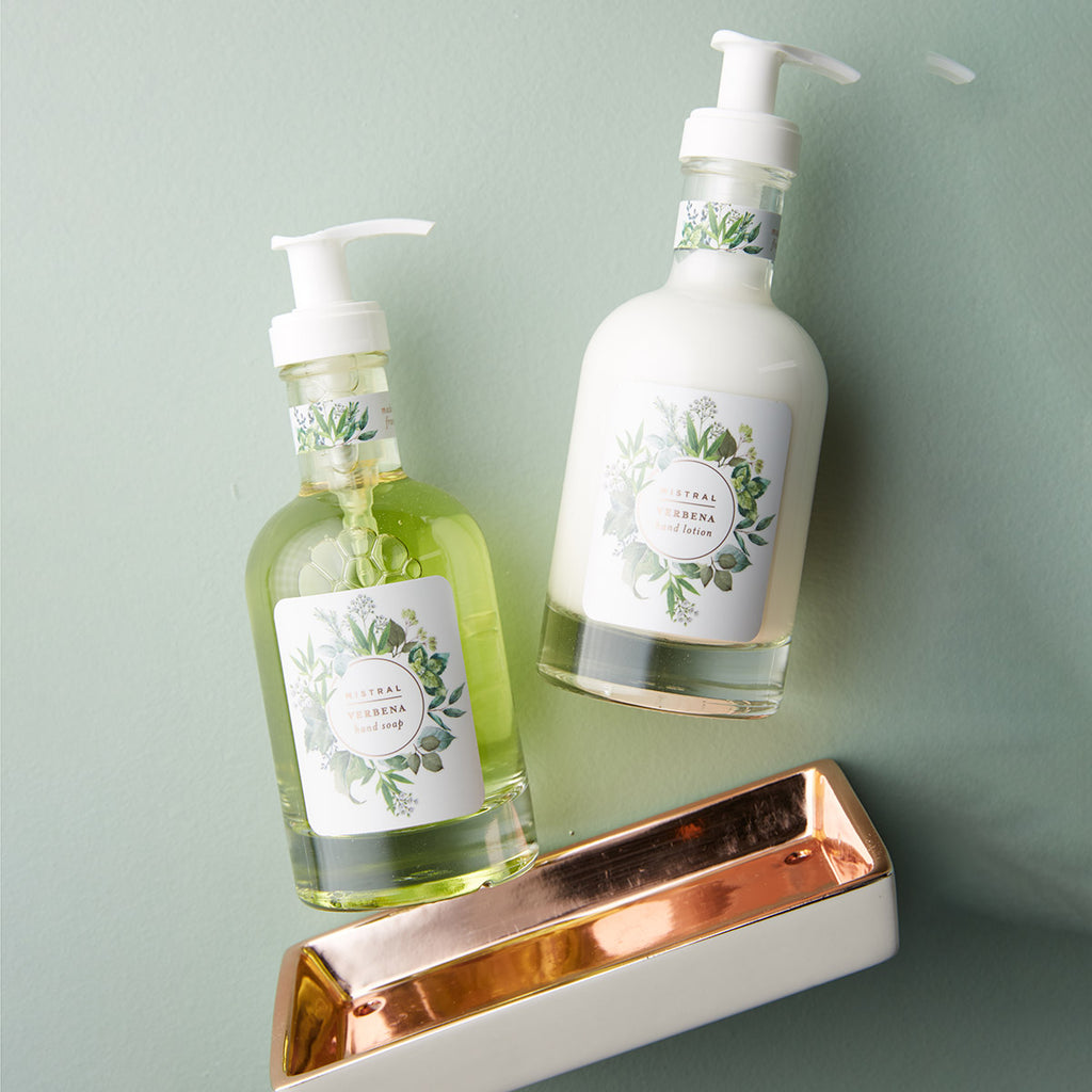 Rose Gold Classic Caddy Set- Verbena