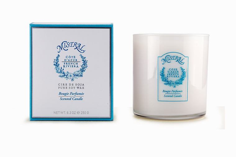 Signature Glass Cote d'Azur Candle