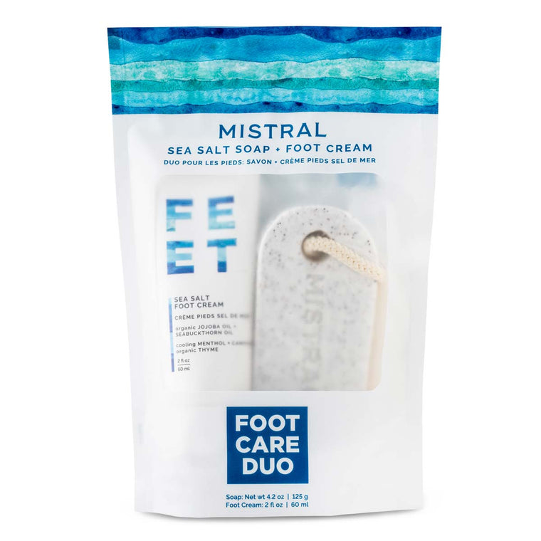 Sea Salt Foot Care Duo