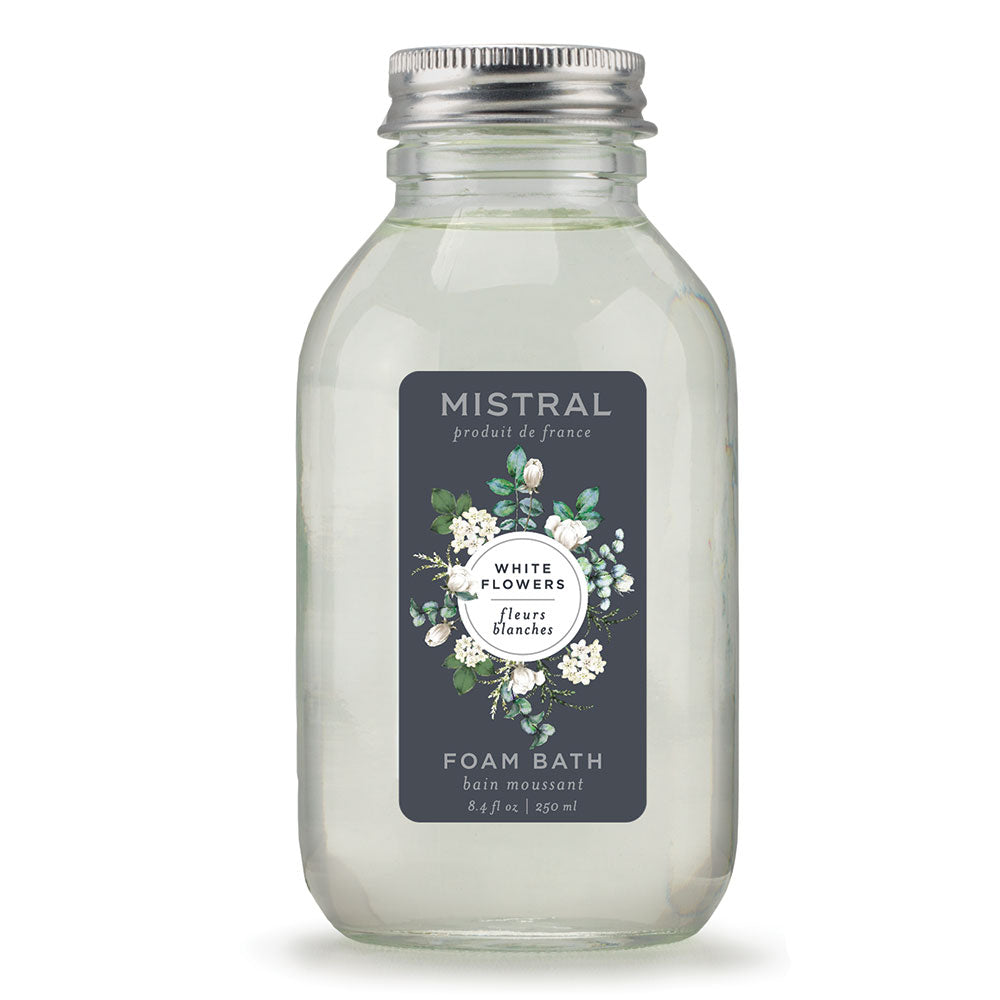 White Flowers Classic Bubble Bath