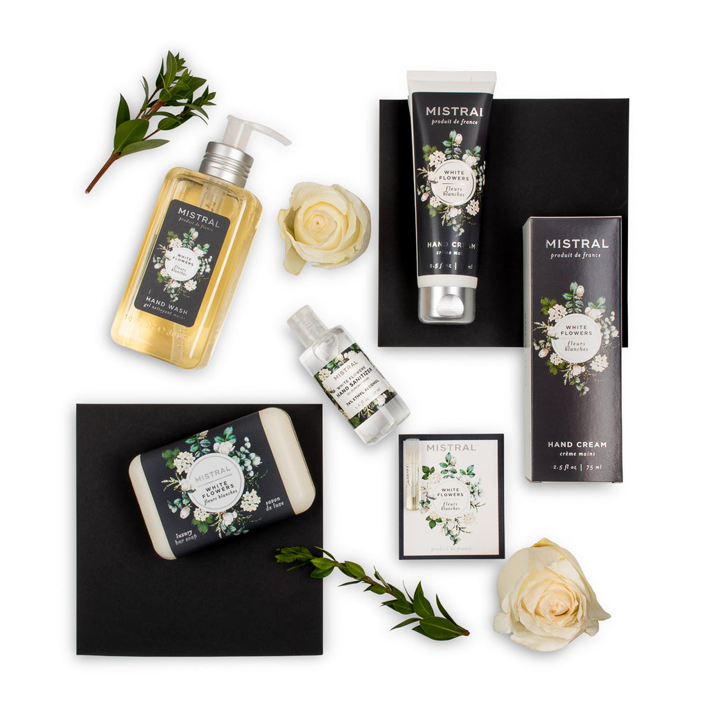 White Flowers Hand Care Gift Set