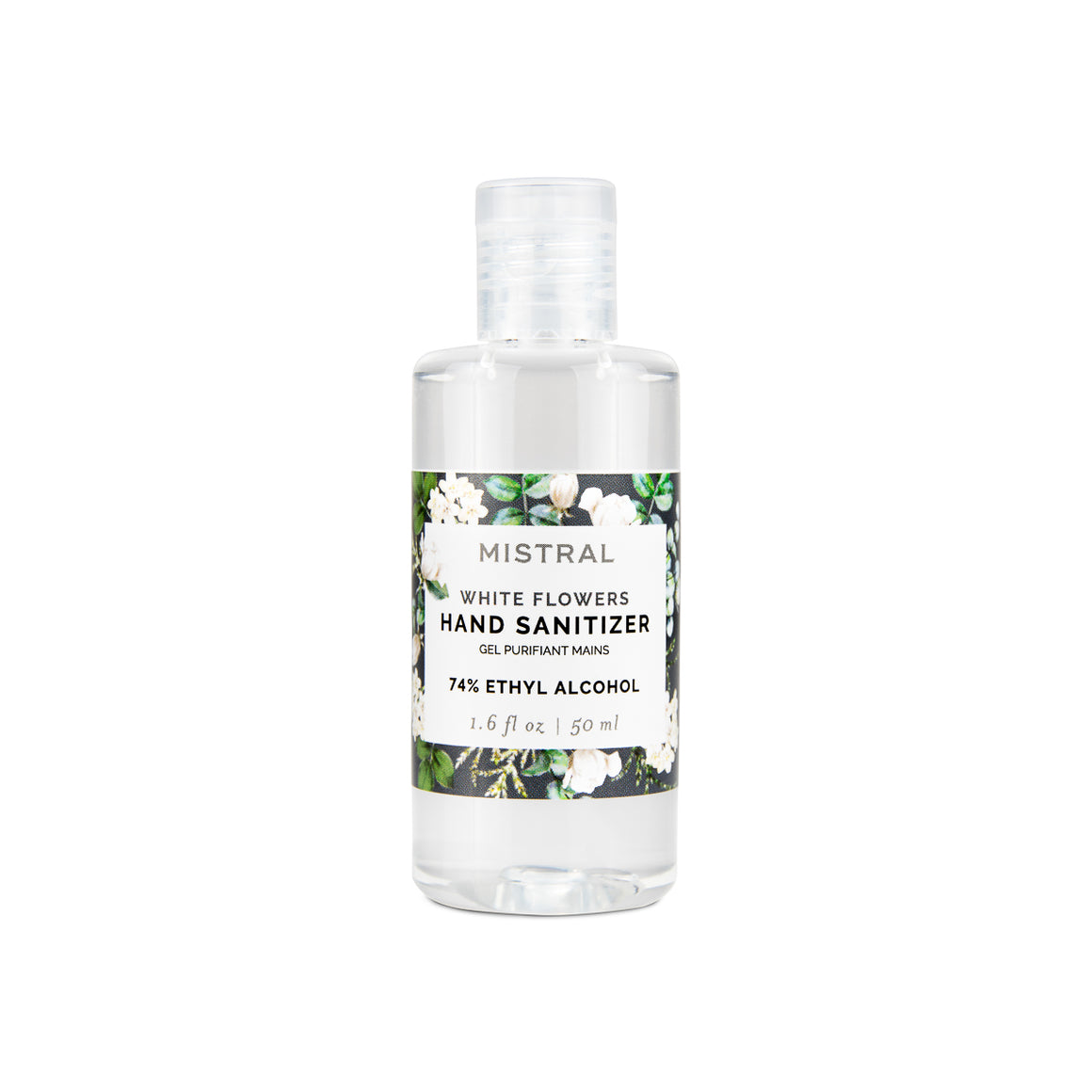WHITE FLOWERS HAND SANITIZER