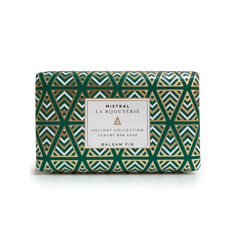 Balsam Fir Holiday Jewels 100g Bar Soap