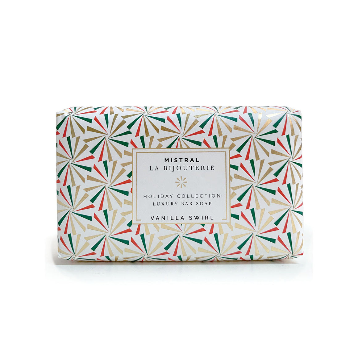 Vanilla Swirl Holiday Jewels 100g Bar Soap