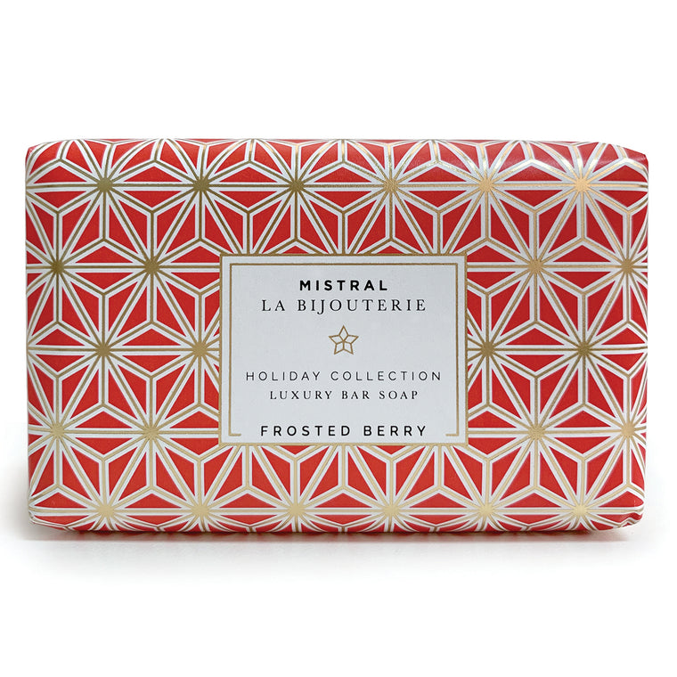 Frosted Berry Holiday Jewels Bar Soap
