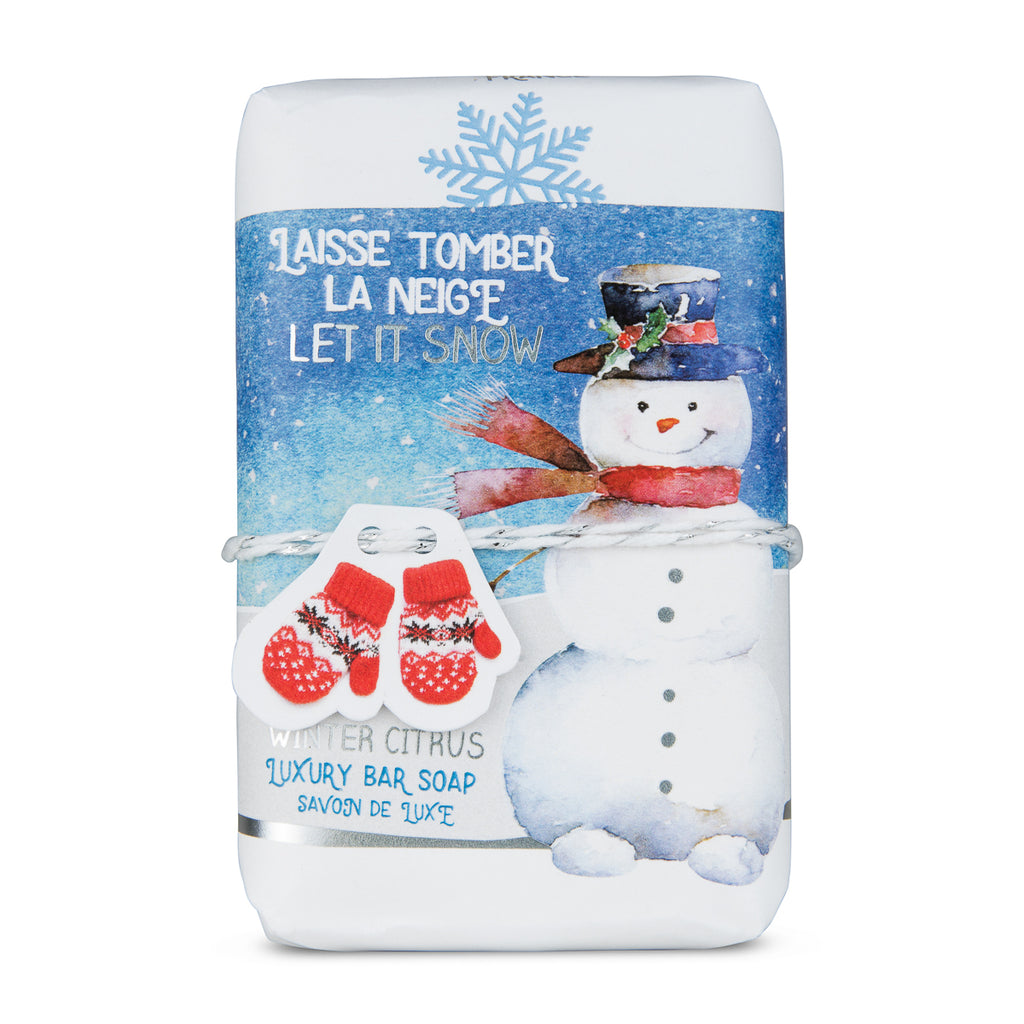 Let It Snow Sentiments Gift Soap