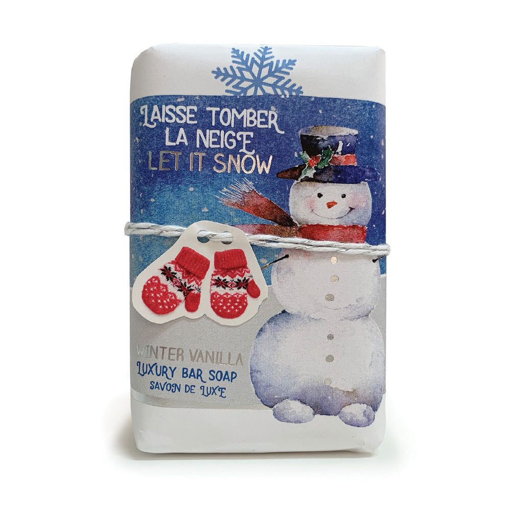 Laisse Tomber le Neige - Let it Snow Sentiments Gift Soap