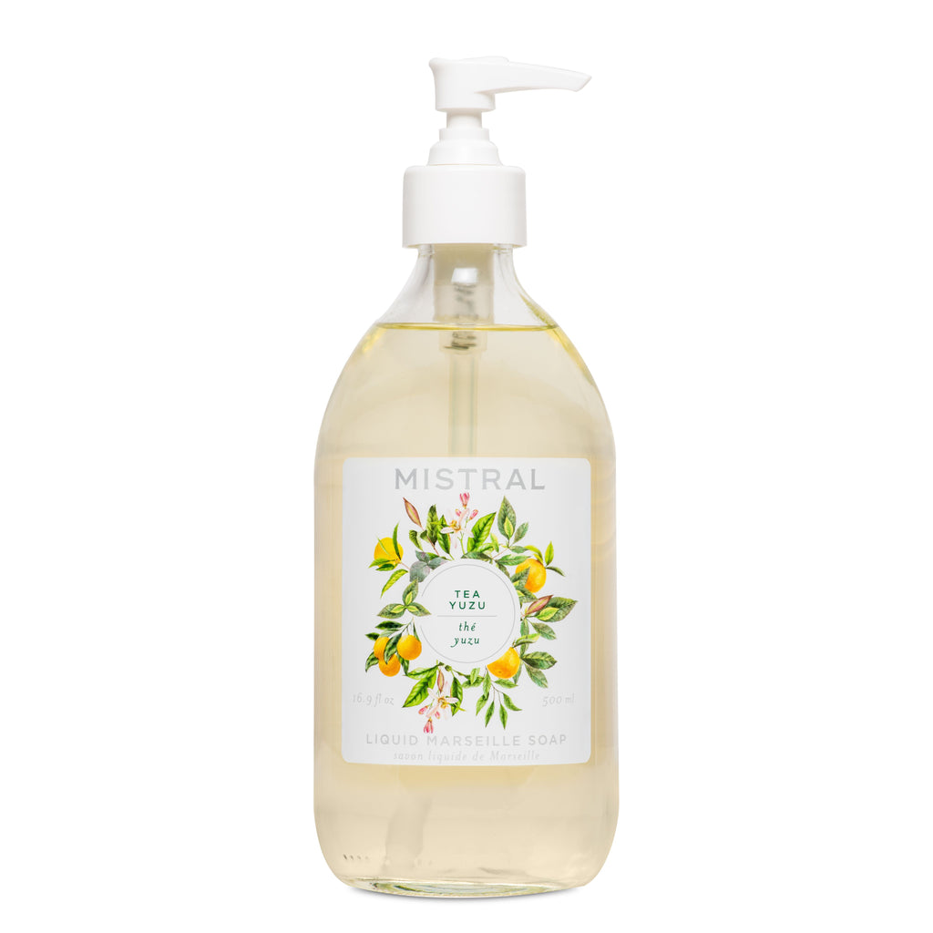 Tea Yuzu Liquid Marseille Soap