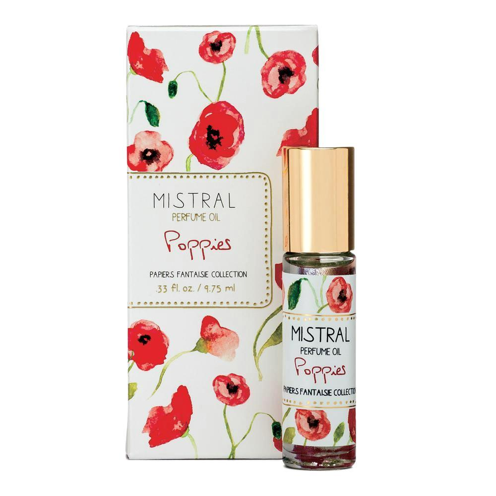Poppies Papiers Fantaisie Roll-on Perfume Oil