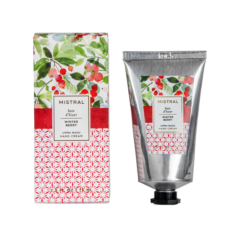 Winter Berry Papiers Fantaisie Hand Cream