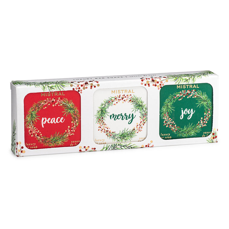 Holiday 3 Soap Boxed Set