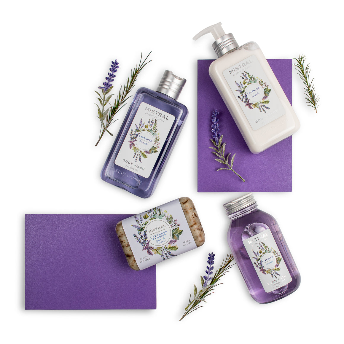 Lavender Self Care Gift Set