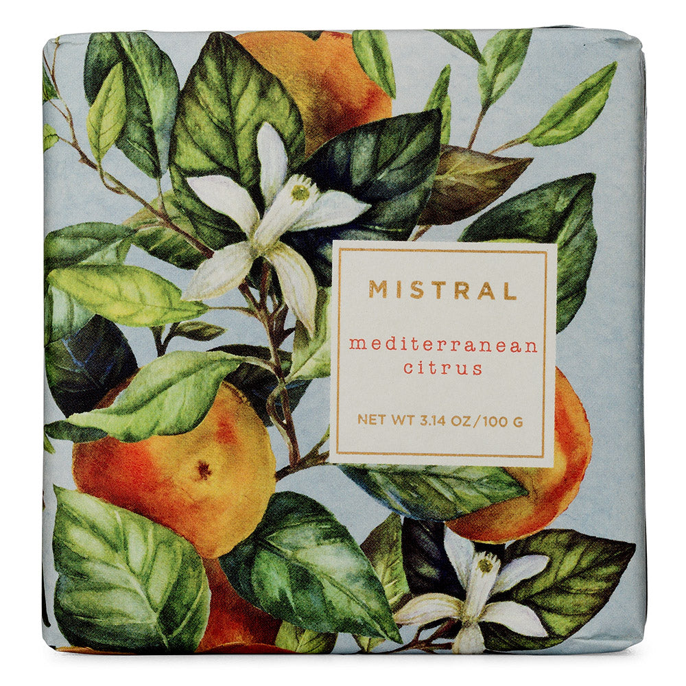 Mediterranean Citrus 100g Bar Soap
