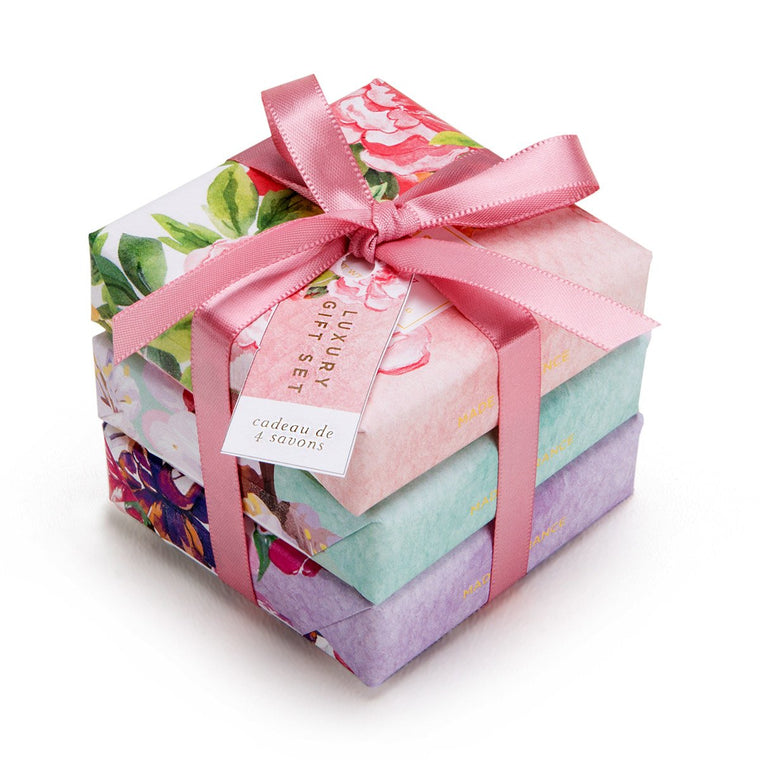 Exquisite Florals 3 Soap Gift Set