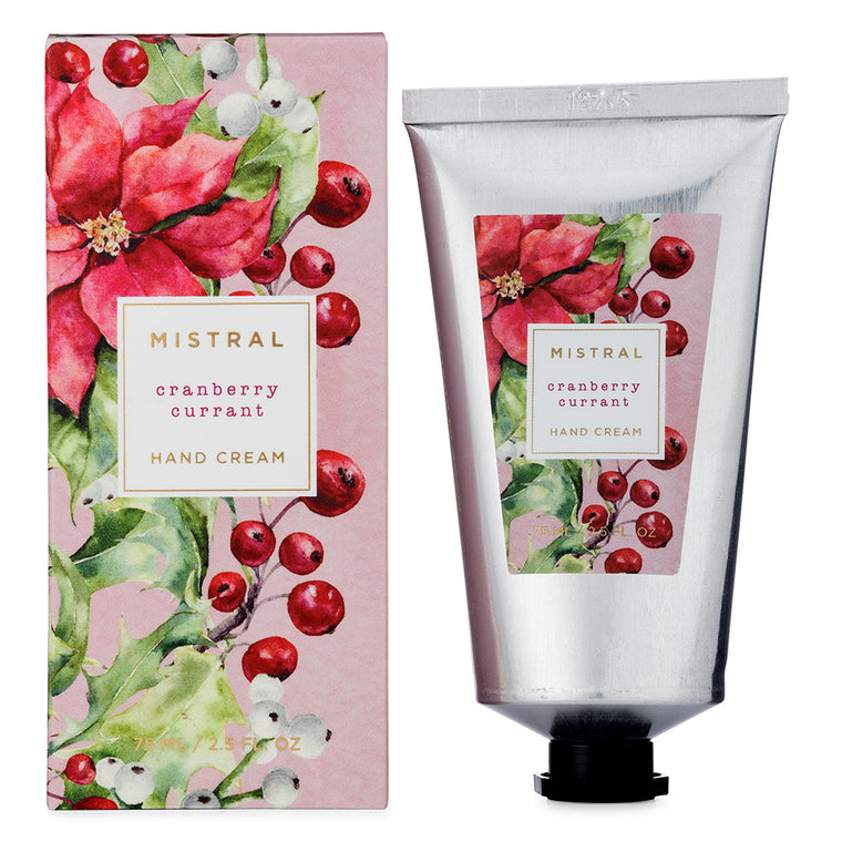 Cranberry Currant Holiday Hand Cream