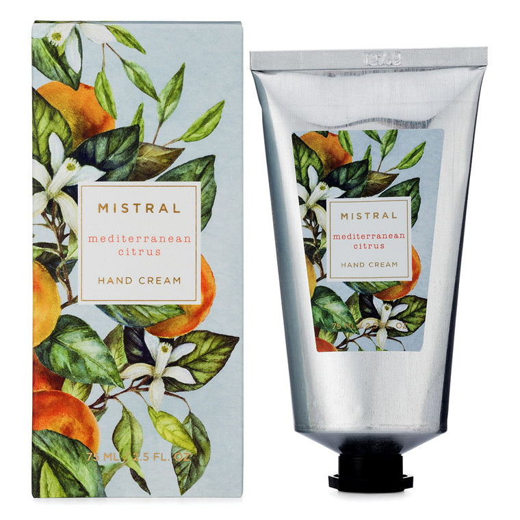Mediterranean Citrus Holiday Hand Cream