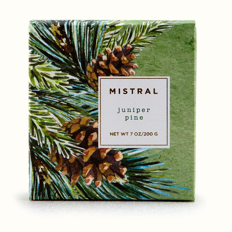 Juniper Pine Holiday Bar Soap