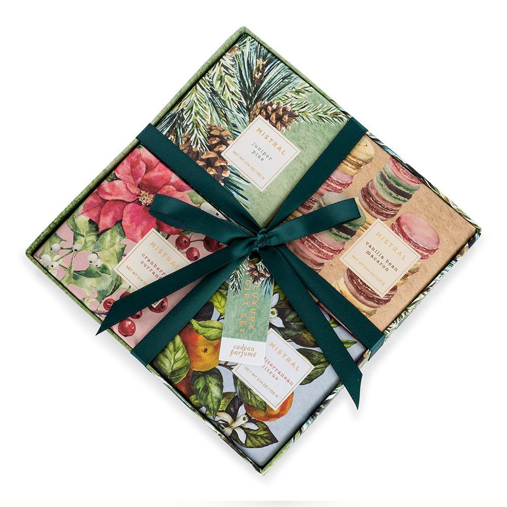 Holiday 4 Soap Gift Set