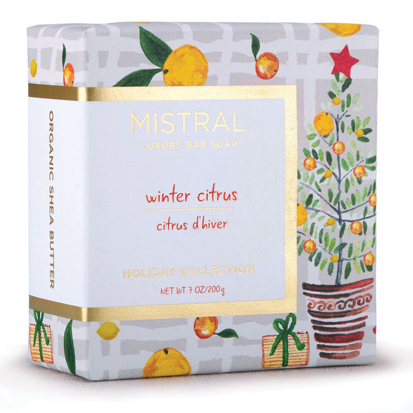 Winter citrus 100g bar soap mistralsoaps - Bathroom items that start with g ...