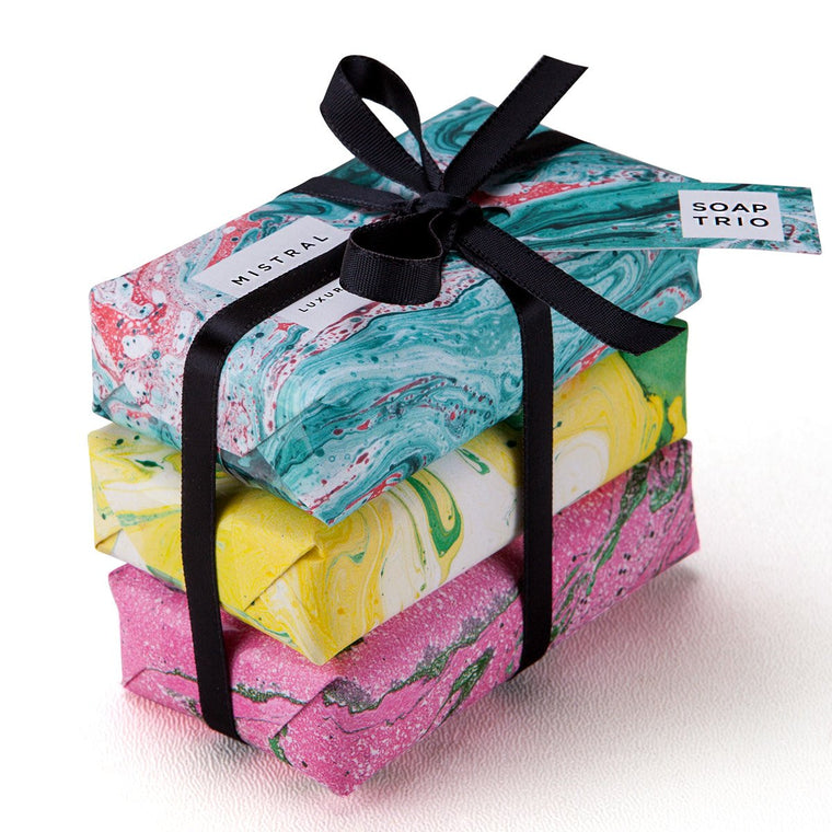 Marbles 3 Soap Gift Set