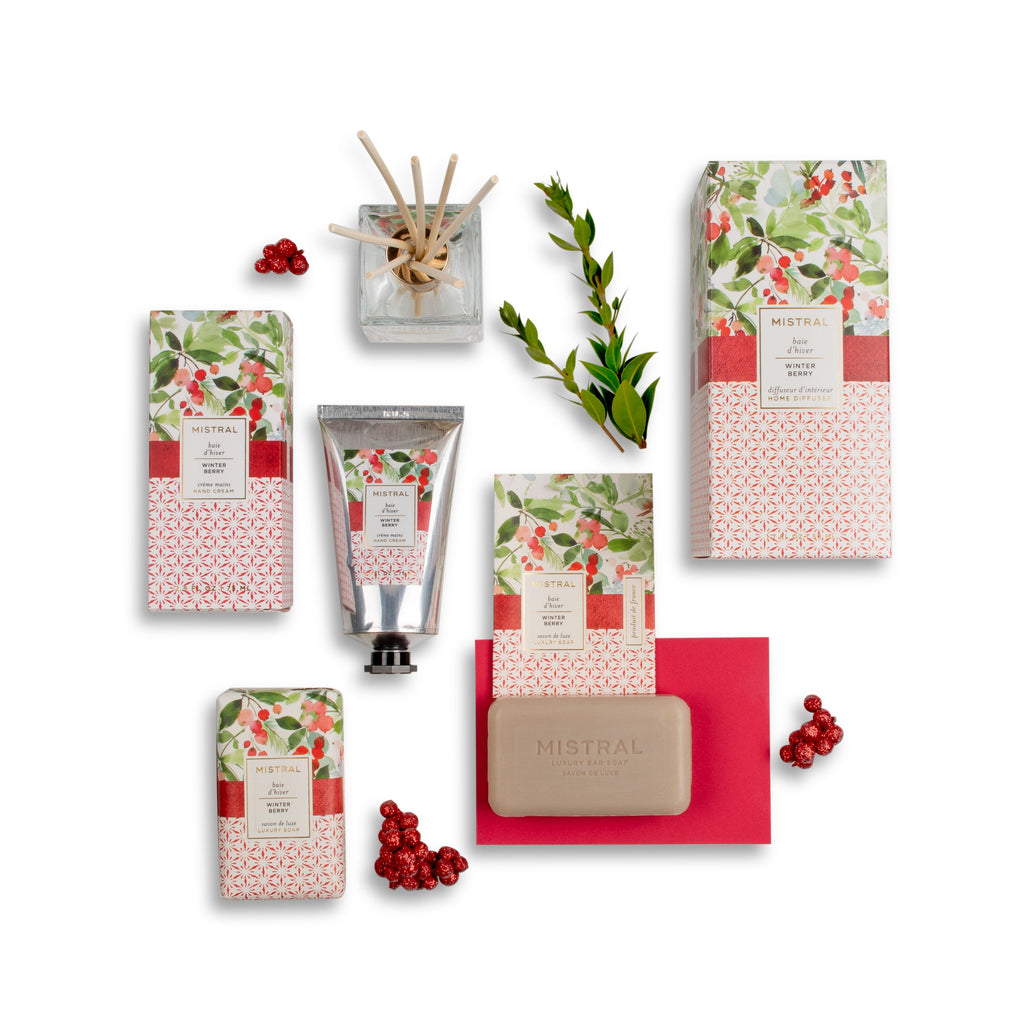 Winter Berry Papiers Fantaisie Holiday Gift Set