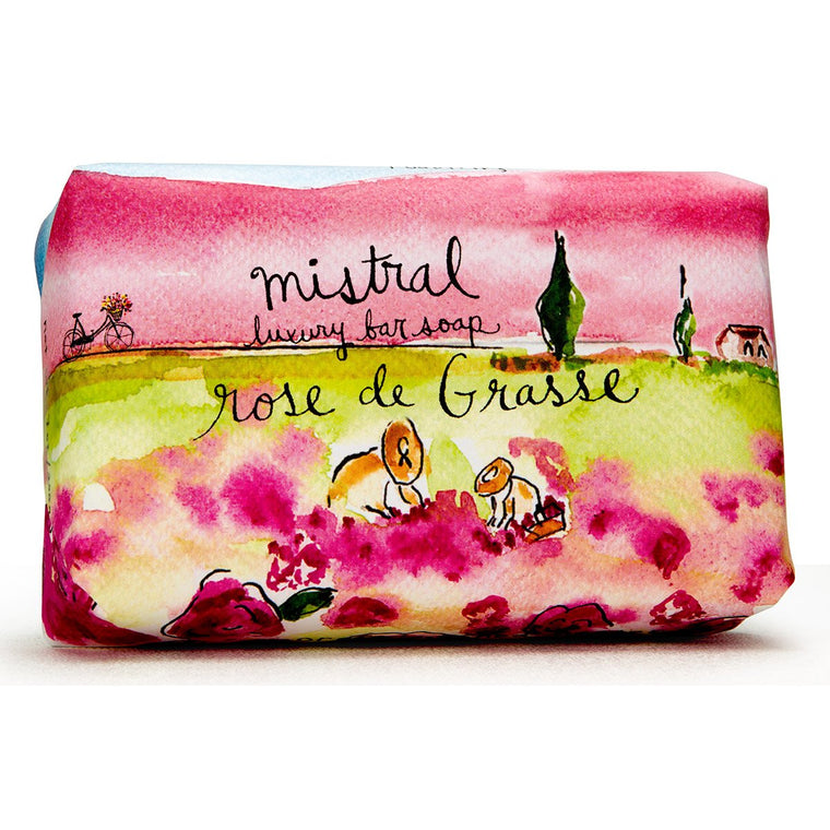 ROSE DE GRASSE SUR LA ROUTE GIFT SOAP