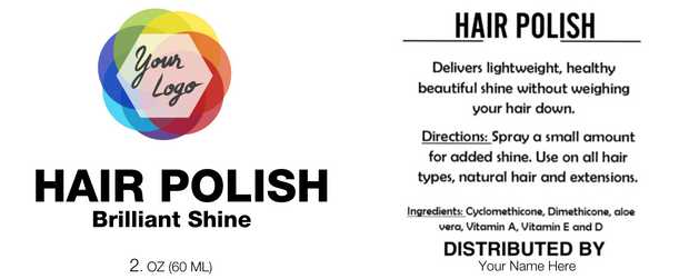 Editable Label Polish Template