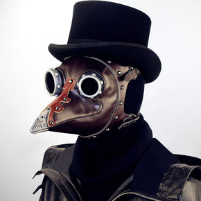Medieval Plague Doctor Mask pattern for Halloween.