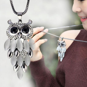 Fantastic Bohemia Retro Owl Necklace