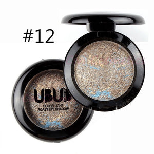 UBUB Eye Makeup 15 Colors Optional Glitter Single Color Matte Eye Shadow