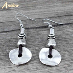 Anslow Antique Silver Plated Wedding Earrings
