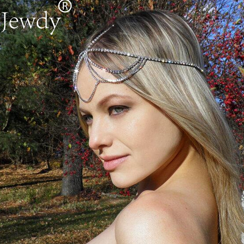 Rhinestone Headbands - Great for Weddings or as Hair Jewelry
