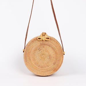ARPIMALA Round Rattan Straw Bags / Cross Body Bag