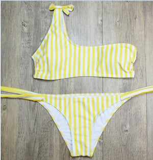 P&j One Shoulder Bikini
