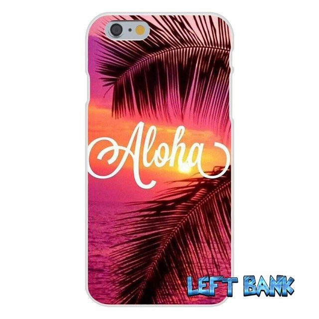 Hawaii Aloha Beach Art Soft Silicone Phone Case #9